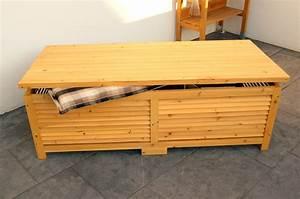 Sitzkissen Box Garten : holz gartentruhe holztruhe auflagenbox kissenbox gartenbox box auflagen truhe ebay ~ Whattoseeinmadrid.com Haus und Dekorationen