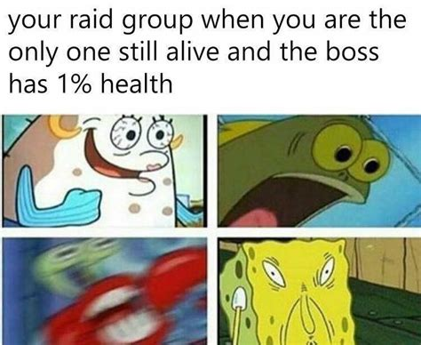 When You're The Last One Alive In Your Raid Group