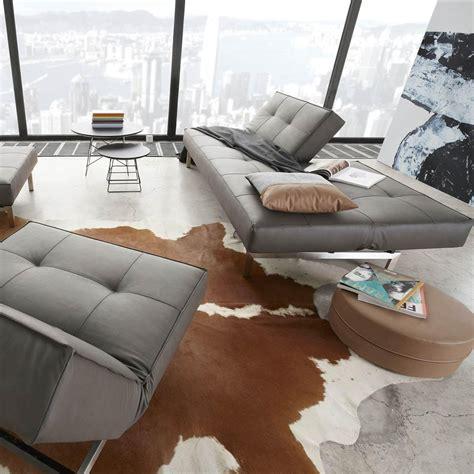 innovation futon splitback sofa bed innovation ambientedirect