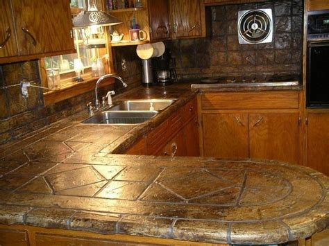 TUMBLED STONE LOOK COUNTERTOP OVERLAY by Turn In2 Stone