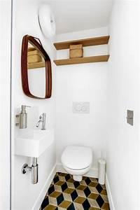 Comment Transformer Ses Wc En Espace Déco : d co wc du carrelage pour des toilettes styl s c t maison ~ Melissatoandfro.com Idées de Décoration