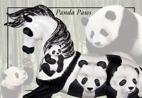 trail  painted ponies panda paws filly