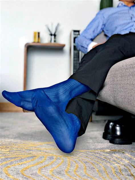 tube socks dress socks gifts  men sheer exotic formal wear men sexy fasion transparent