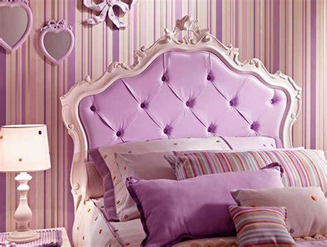 chambre princesse adulte lit fille avec tête de lit capitonnée lila piermaria