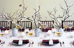 Blossom Branch Bridal Shower Table Setting POPSUGAR Home
