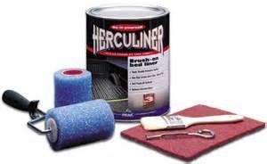 herculiner gray brush on truck bed liner kit gallon pekhcl1g8