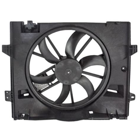 crown victoria grand marquis town car radiator cooling fan motor assembly  control