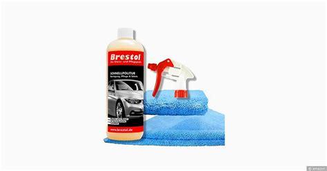 waschen ohne wasser waschen ohne wasser wow mit dem schnellpoliturset brestol