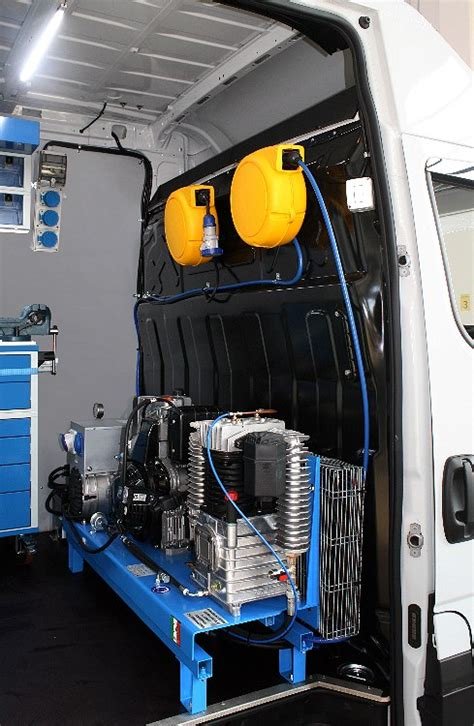 mobile workshop conversion   iveco daily  truck