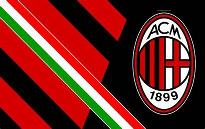 Milan Ac 4k Italian Club Football Background