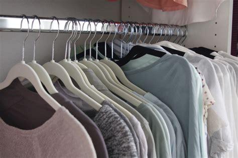 create  closet space     hangers