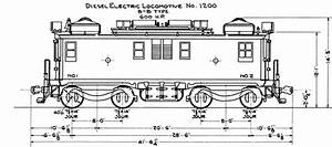 Chicago  U0026 North Western Diagram For General Electric Erie