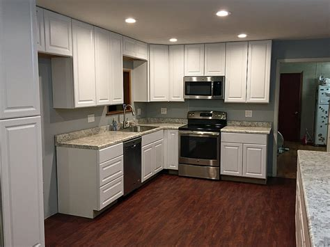 Home Depot Cabinets In Stock by Kitchen Update Your Kitchen With New Custom Home Depot