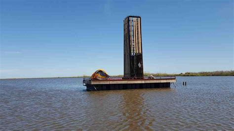 sea rim state park floating primitive campsite boat  texas parks wildlife department