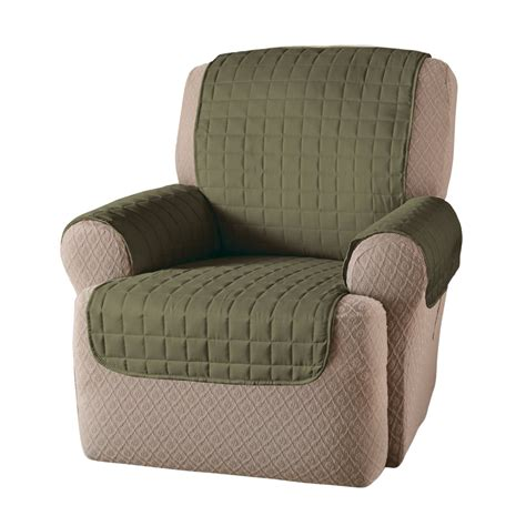 recliner covers recliner protector polyester furniture chair microfiber cover kid pet sage ebay