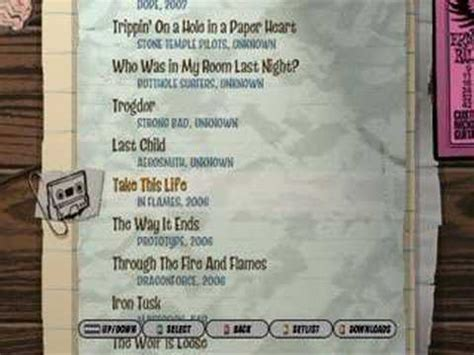 Premium songs require an additional credit in order to play. Guitar Hero 3, Custom song list. New. - YouTube