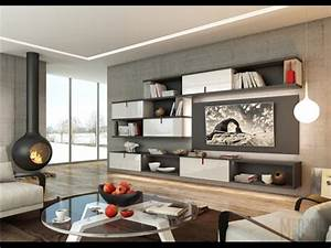 Modern Style living room interior design ideas 2017. New ...