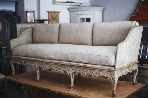 swedish settee swedish rococo sofa ca 1760 the gustavian home