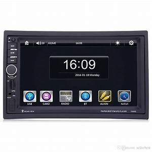 7020g Car Mp5 Player With Rearview Camera Bluetooth Fm Gps