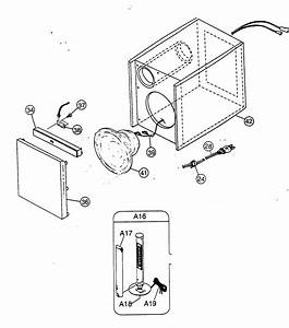 Speaker Diagram  U0026 Parts List For Model Fssd1000 Jvc