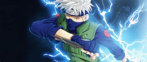 Download Anime Kakashi Hatake Art Wallpaper 2560x1080