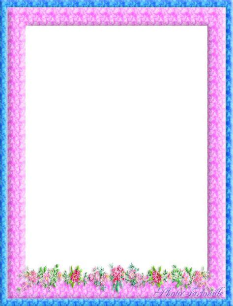 cadre photo a imprimer gratuitement papier lettre 224 imprimer fleurs dans cadre color 233 les papiers lettre de farfouille