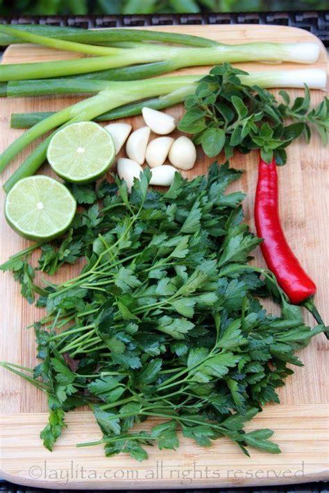 recette cuisine chilienne les ingrédients de la sauce chimichurri cuisine