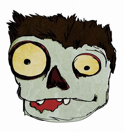 Zombie Face Clipart Funny Halloween Clip Cartoon