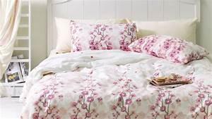 housse de couette rose pas chere ventes privees westwing With déco chambre bébé pas cher avec expedition fleurs