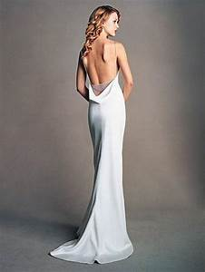 backless dresses backless wedding gowns 2110738 weddbook With silk wedding dresses low back