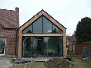 idees extension maison With delightful maison bois toit plat 9 extensions nord maison bois nord