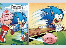 Amy Needs To Spin Dash More XD Sonamy cute love
