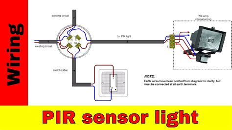 wiring pir sensors in parallel diagram how to wire lights in parallel with switch diagram 50
