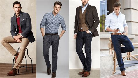 Where To Draw The Line Between Men's Business Casual And