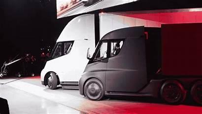 Tesla Semi Truck Trucks Order Ups Electric