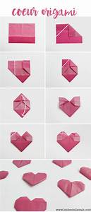 Herz Falten Origami : diy apprenez r aliser un coeur en origami ~ Eleganceandgraceweddings.com Haus und Dekorationen