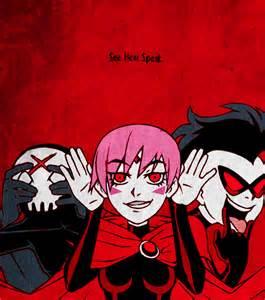 Evil Red Raven Teen Titans