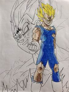 Majin Vegeta Drawing | www.pixshark.com - Images Galleries ...