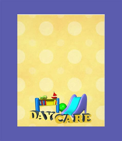 daycare flyer templates sample templates