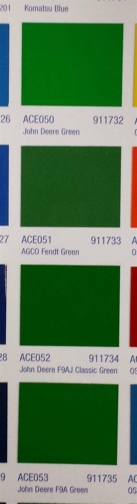 deere green ppg paint code mytractorforum the