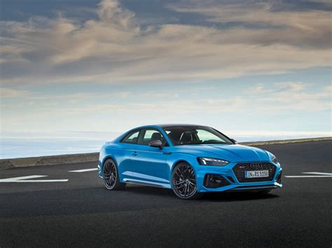 Audi RS5 Coupe and Sportback Facelift Unveiled Globally!