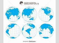 Earth globe vector illustration free download cdr ai eps
