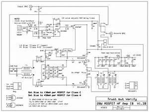 20w Amplifier I  V1 3b  Schematic