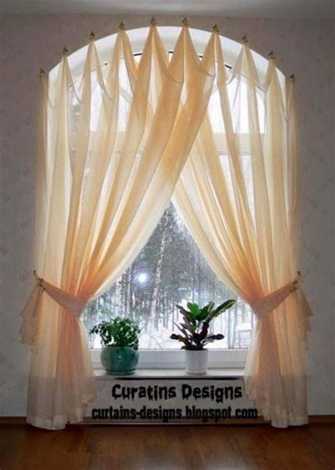 Sound Dening Curtains Three Types Of Uses by Best 25 Arched Window Treatments Ideas On