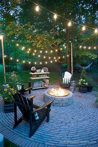 57, Awesome, Backyard, Fire, Pit, Ideas, 35