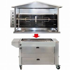 Barbecue Gaz Et Charbon : station barbecue gaz et tournebroche bois st3 ~ Dailycaller-alerts.com Idées de Décoration