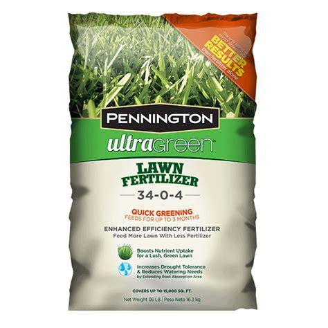 lawn fertilizer brands ultragreen lawn fertilizer pennington 3684