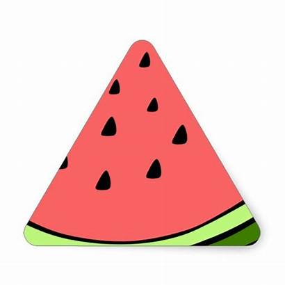 Triangle Watermelon Slice Objects Clipart Triangles Thing
