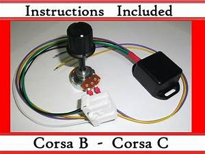 Corsa B C - Kit - Electric Power Steering Controller Box - With Ecu Plug