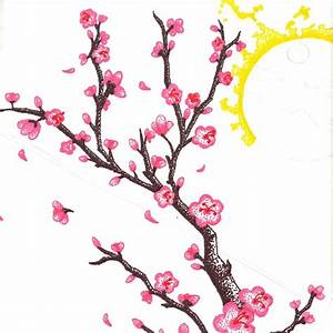 Cherry Blossom Drawings Clip Art (28+)